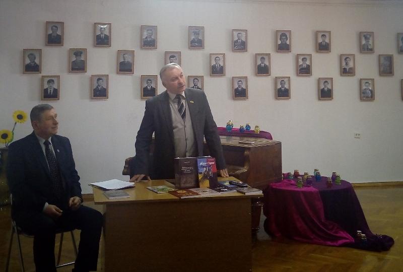 Бердичеву презентовано книгу Геннадія Махоріна про Українську національну революцію на Житомирщині